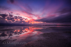 muzzpix-nz posted a photo:Facebook    | 500px  | WebsiteA flaming hot winter sunset in the Tauranga harbour  just to warm us up ...