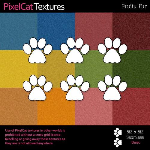PixelCat Textures - Fruity Fur