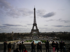 Classic Eiffel Tower shot