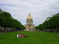 Invalides from behind