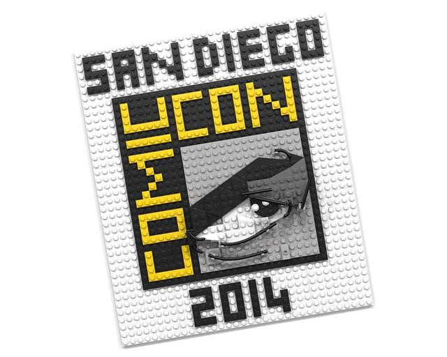 LEGO San Diego Comic Con 2014