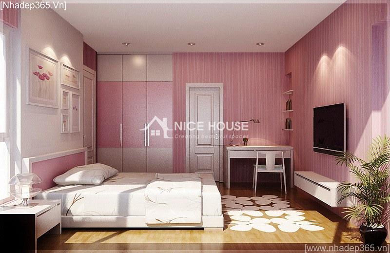 Thiết kế nội thất căn hộ nhà cô Hằng - HN_09