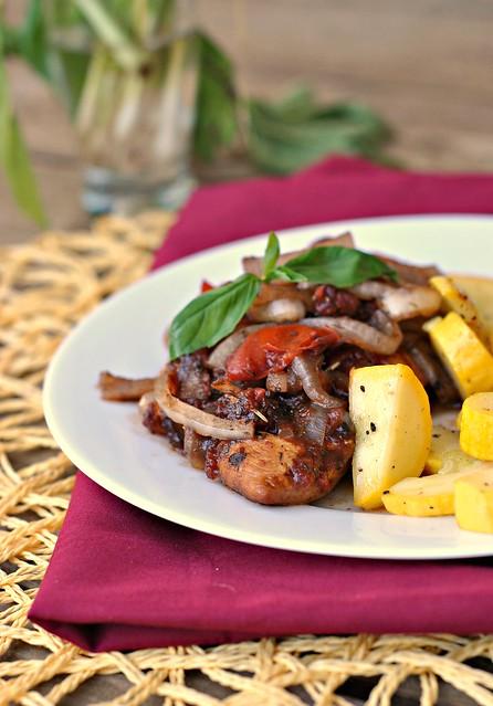 Braised Balsamic Chicken Recipe — Dishmaps