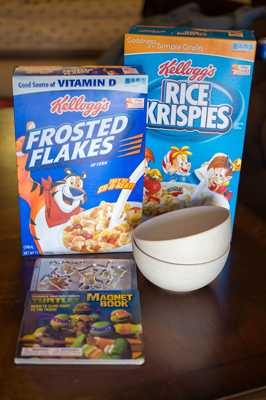 Kellogg's Cereal with Bedtime Story #goodnightsnack #shop