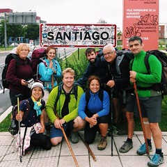 Would you look at that... =) #arrived #caminodesantiago #caminofamily #santiago #vscocam