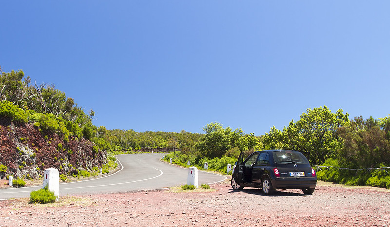 Pit stop - Paul da Serra, Madeira