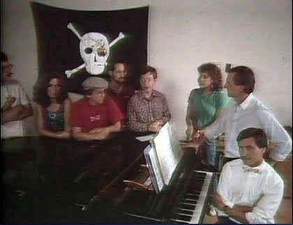 当年悬挂在Mac开发组办公楼上的海盗旗
