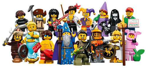 Collectable Minifigures Series 12 14748306272_0bfdff4e4e