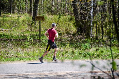 Phil running