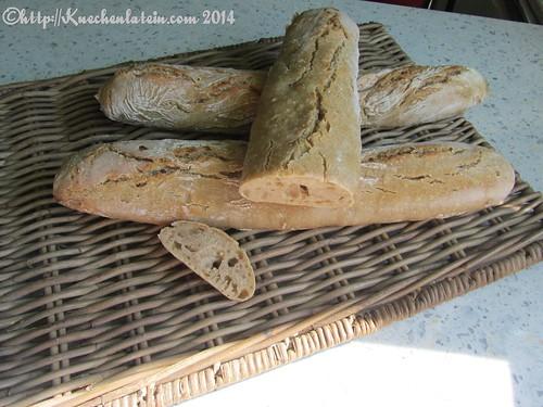 Baguette aus Roggensauerteig(4)