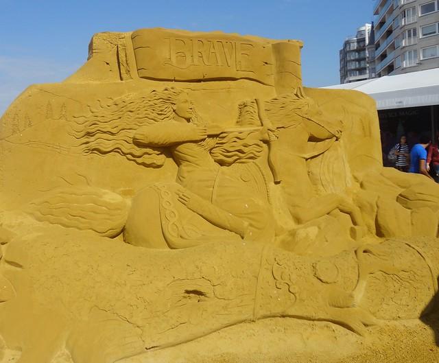 Sculpures sur sable Disney - News Touquet p.1 ! 14770402818_41c0a3f5df_z