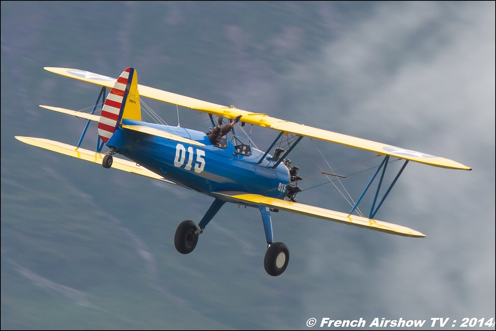PT-17 Stearman Roanne courchevel 2014