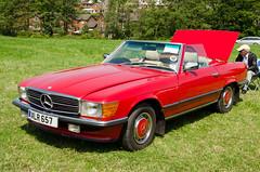 mercedes-benz 450sel 6.9(0.0), automobile(1.0), automotive exterior(1.0), wheel(1.0), vehicle(1.0), mercedes-benz r107 and c107(1.0), mercedes-benz(1.0), bumper(1.0), classic car(1.0), land vehicle(1.0), luxury vehicle(1.0), convertible(1.0),