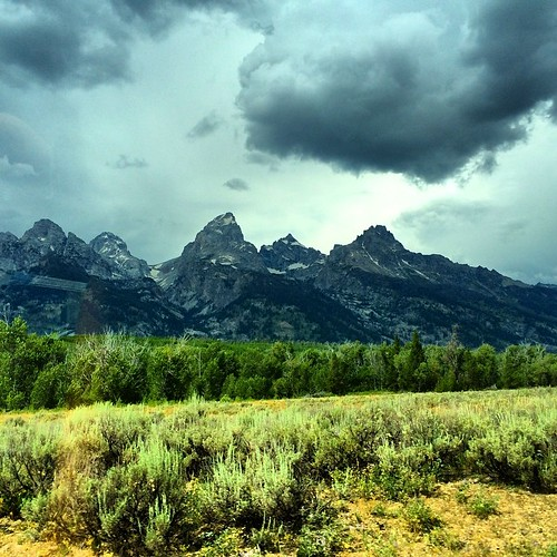 Bye bye Teton Mountains! Off to Idaho and Craters of the moon I go! Grab your moon suit and come along! Only a few more days of this trip left!