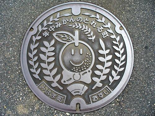 Mihama Mie, manhole cover (三重県御浜町のマンホール)