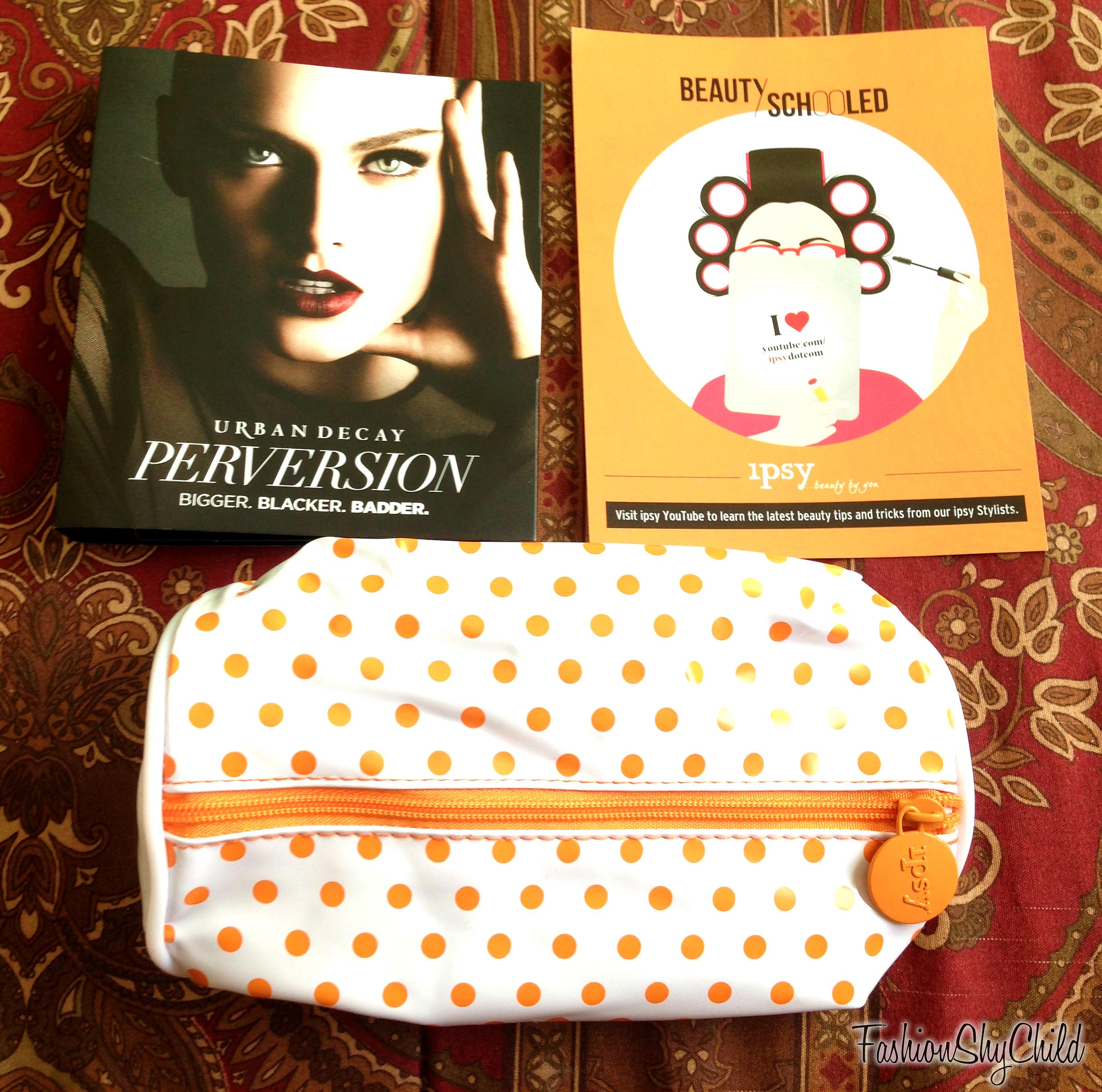 August 2014 Ipsy Bag