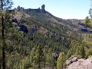 Gran Canaria - Roque Nublo in the Spring
