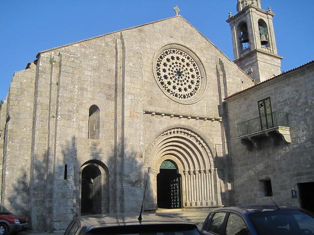 Monasterio de Armenteira en Meis