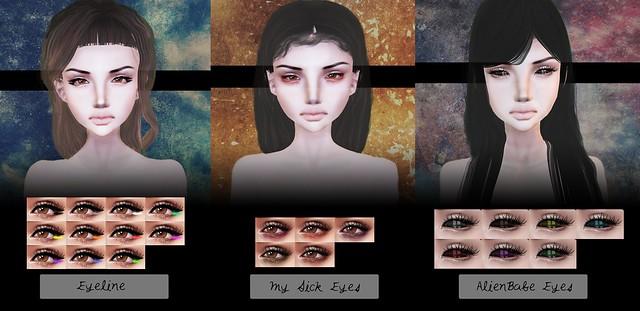 ✿ Eyeline;MySickEyes;AlienBabe ✿
