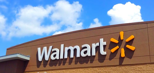 Walmart now offers free Wi-Fi to its customers! Photo CC BY 2.0 (Mike Mozart)