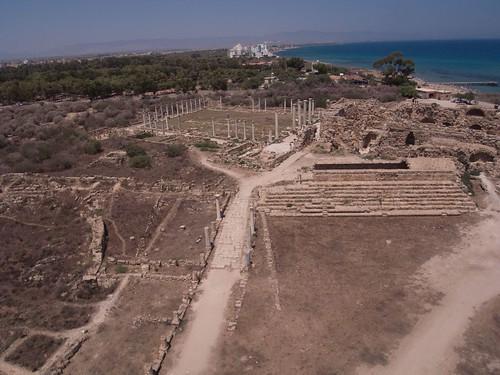 roman thomas cyprus kap gymnasium kiteaerialphotography salamis salamine sagory
