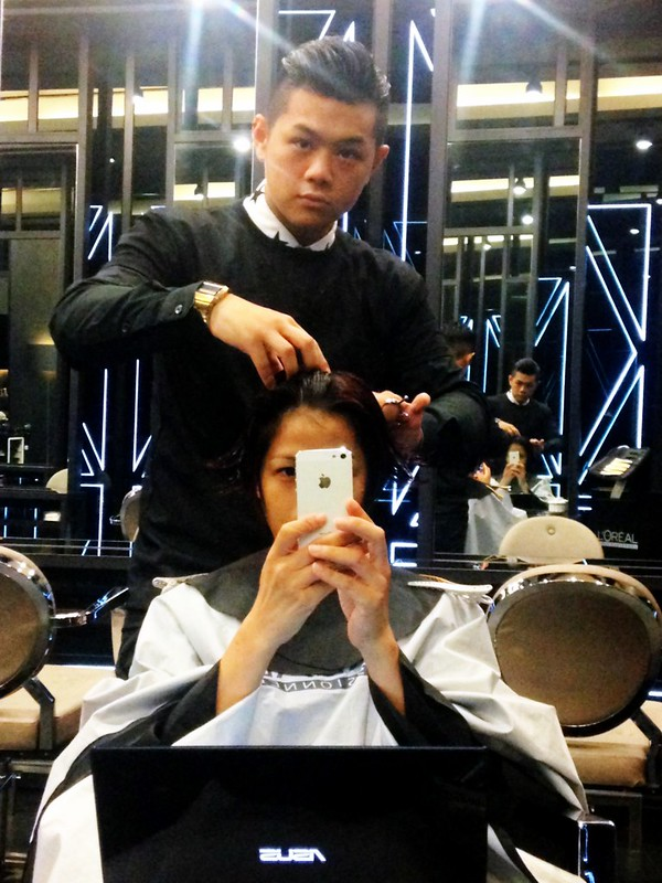 Haircut And Hair Colour By Centro W Salon Gardens Mid Valley