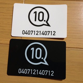 10. | IC Card Sticker