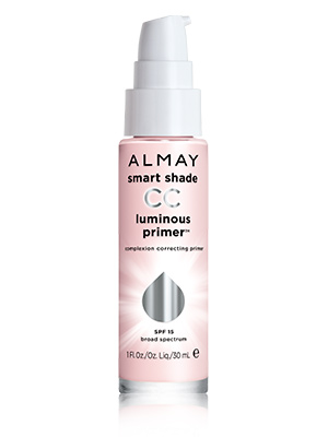 Almay-5-minute-face-cc-primer, almay smart shade, almay smart shade cc luminous primer