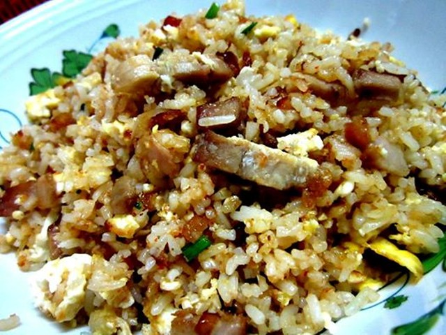 STP's pork belly fried rice