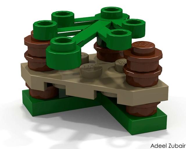 LEGO Minifigure Scale Lego Set - Ewok Village (10236)
