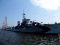 Port in Gdynia, 2.08.2014