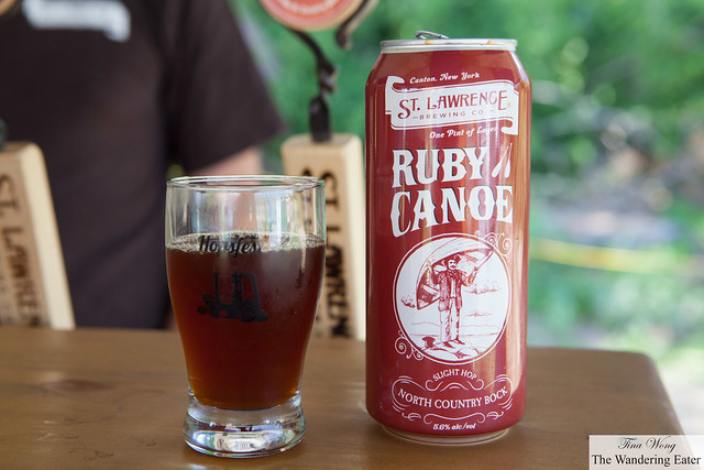 Ruby Canoe from St. Lawrence Brewing Co.