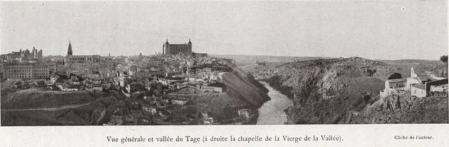 Vista general de Toledo a comienzos del siglo XX. Fotografía de Élie Lambert publicada en su libro Les Villes d´Art Célebres: Tolède (1925)