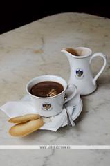 Caffe Florian Hot Chocolate - Venice, Italy