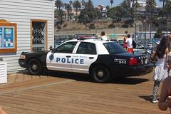 Santa Monica Police Department Ford Crown Victoria