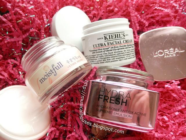 Empties Skincare Moisturizers Kiehls Etude House Loreal