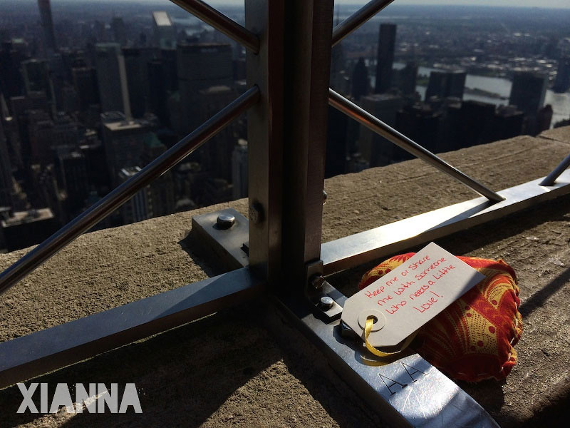 Share the love in the Empire State building