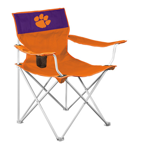 Clemson Tigers Canvas TailGate/Camping Chair