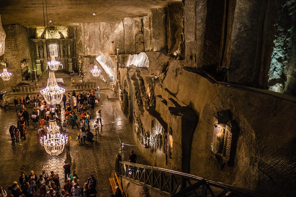 The Wieliczka Salt Mine (Polish: Kopalnia soli Wieliczka)