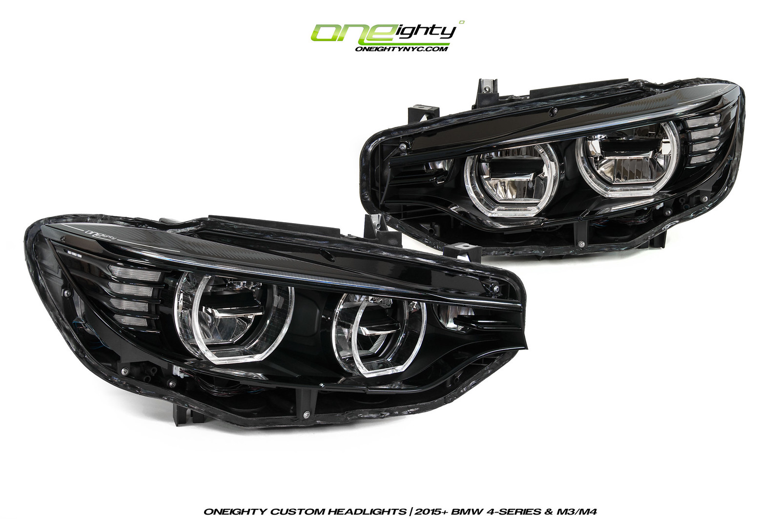 Oneighty Presents Blk Out M3 M4 Led Headlights