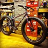 Amber's Surly Pugsley Fat Bike, in Grape!