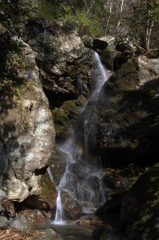 出合下の滝