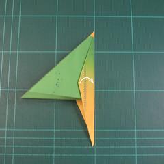 วิธีพับกระดาษเป็นรูปนกแก้ว (Origami Parrot) 024