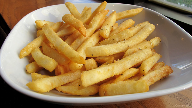Best-looking plate of fries ever