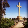 Memorial Cross at Mount Macedon, Victoria