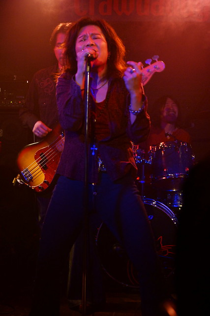 Molten Gold live at Crawdaddy Club, Tokyo, 13 Sep 2014. 090