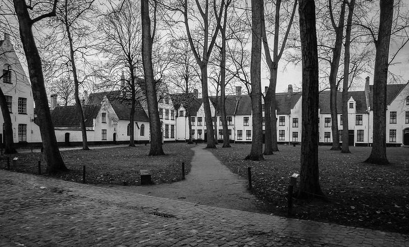 Almshouses, Bruges