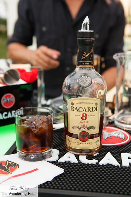 Barcardi 8 for the Cuba Libre