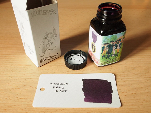 Noodler's Purple Heart - Ink Review