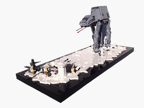 Battle of Hoth, by markus1984, on Eurobricks